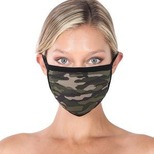 FREE with purchase Camo Face Mask